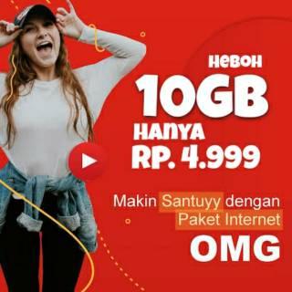Paket OMG 10GB 5000 Rupiah Belinya Dimana?