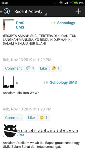 Aplikasi Schoology Review