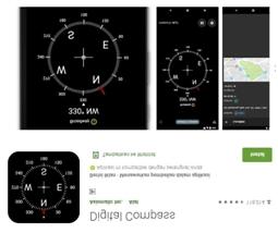 compass digital - Aplikasi Bermanfaat Android