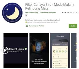 filter cahaya - Aplikasi Bermanfaat Android