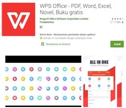 WPS Office - Aplikasi Bermanfaat Android