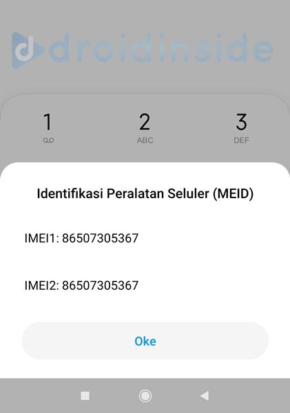 identifikasi peralatan seluler MEID