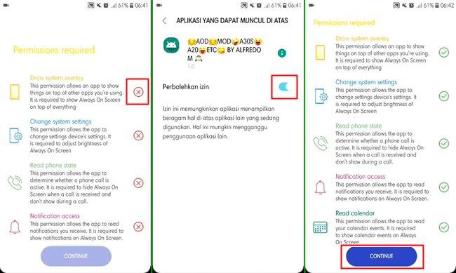 aplikasi always on display samsung