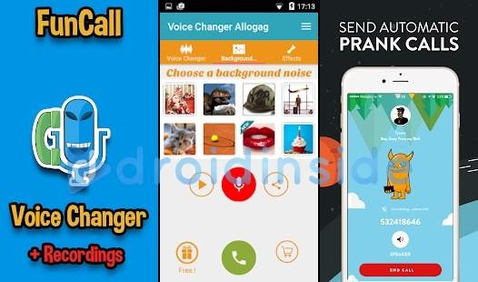 aplikasi ubah suara telefon