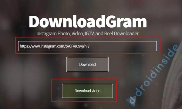 download video dan foto IG dengan downloadgram