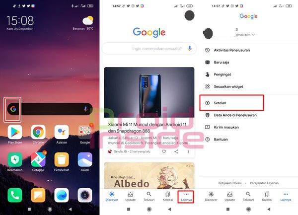 mengubah suara Google Assistant