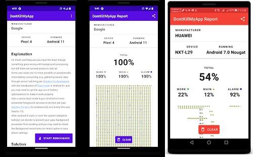vendor mematikan aplikasi background
