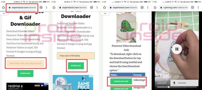 download video pinterest tanpa apk