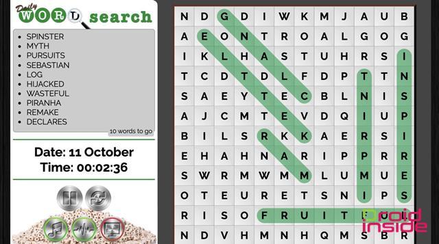 word search droidinside